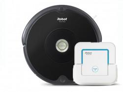 Set iRobot Roomba 606 + Braava Jet 240 robotický vysavač + mop